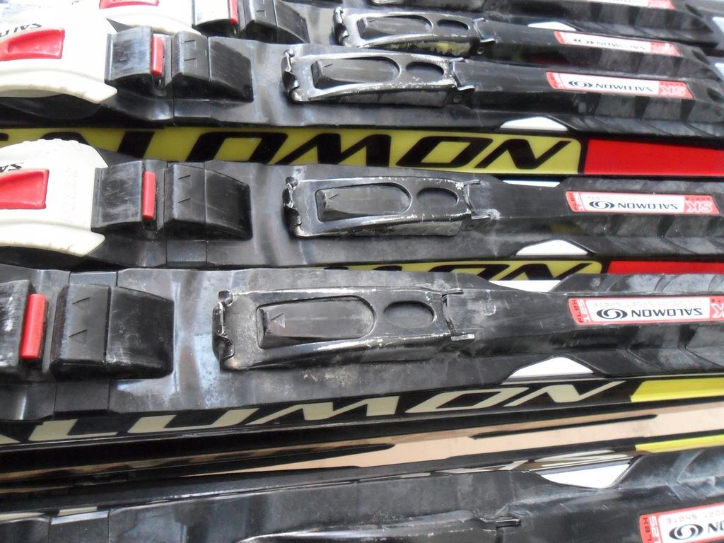 Narty biegowe łyżwa używane salomon 186 cm