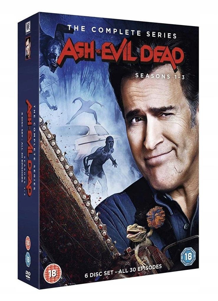 . Ash kontra martwe zło vs Evil Dead | s 1-3 | DVD