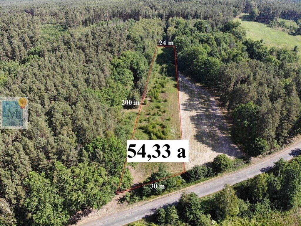 Działka, Sterków, 5433 m²