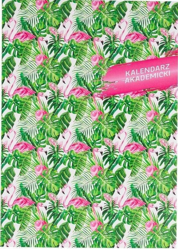 Kalendarz akademicki A5 2020/2021 PCV Flamingi
