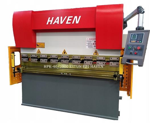 Hydrauliczna Prasa Krawędziowa HPK-40/2500 E21