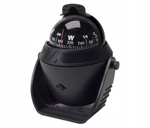 Kompas żeglarski 120x150x90 mm z osłoną na światło