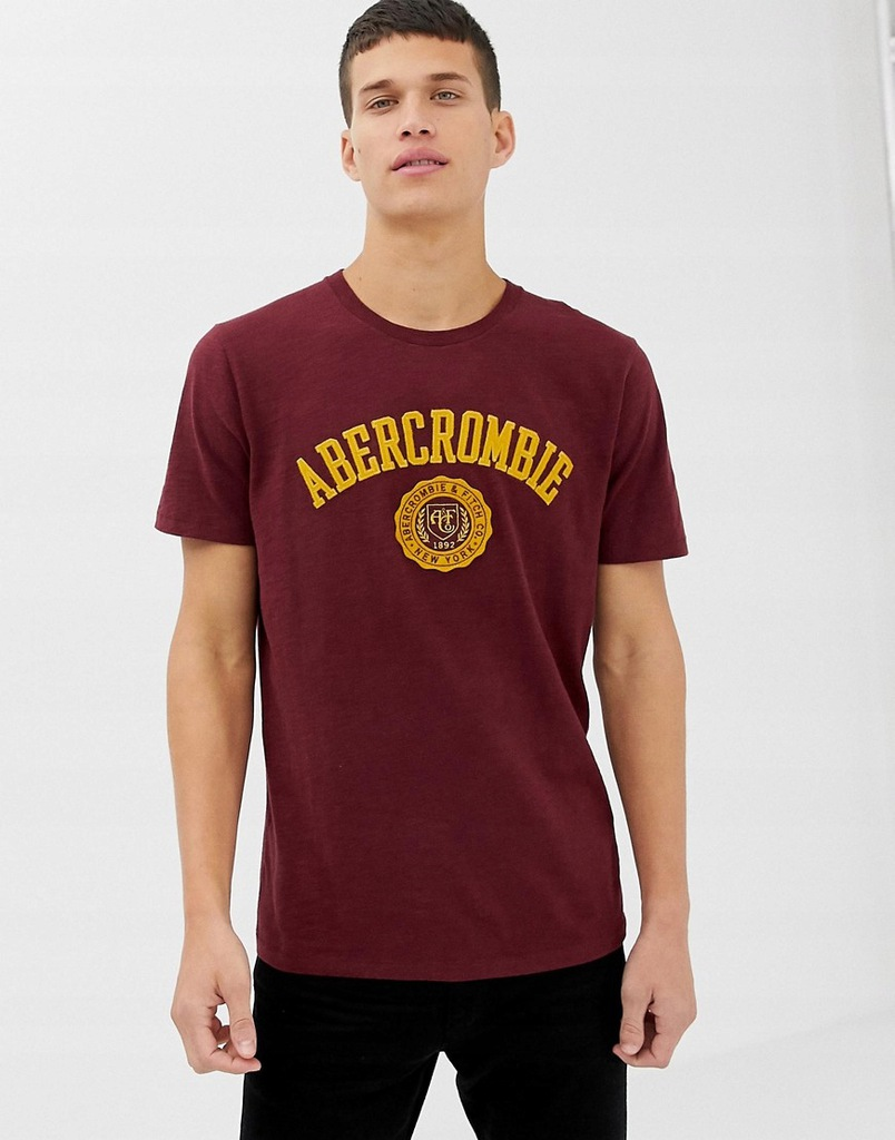 ABERCROMBIE AND FITCH T-SHIRT Z LOGO__L_1M__XDH