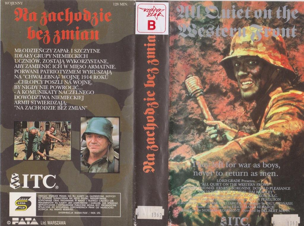 NA ZACHODZIE BEZ ZMIAN - VHS 54KA