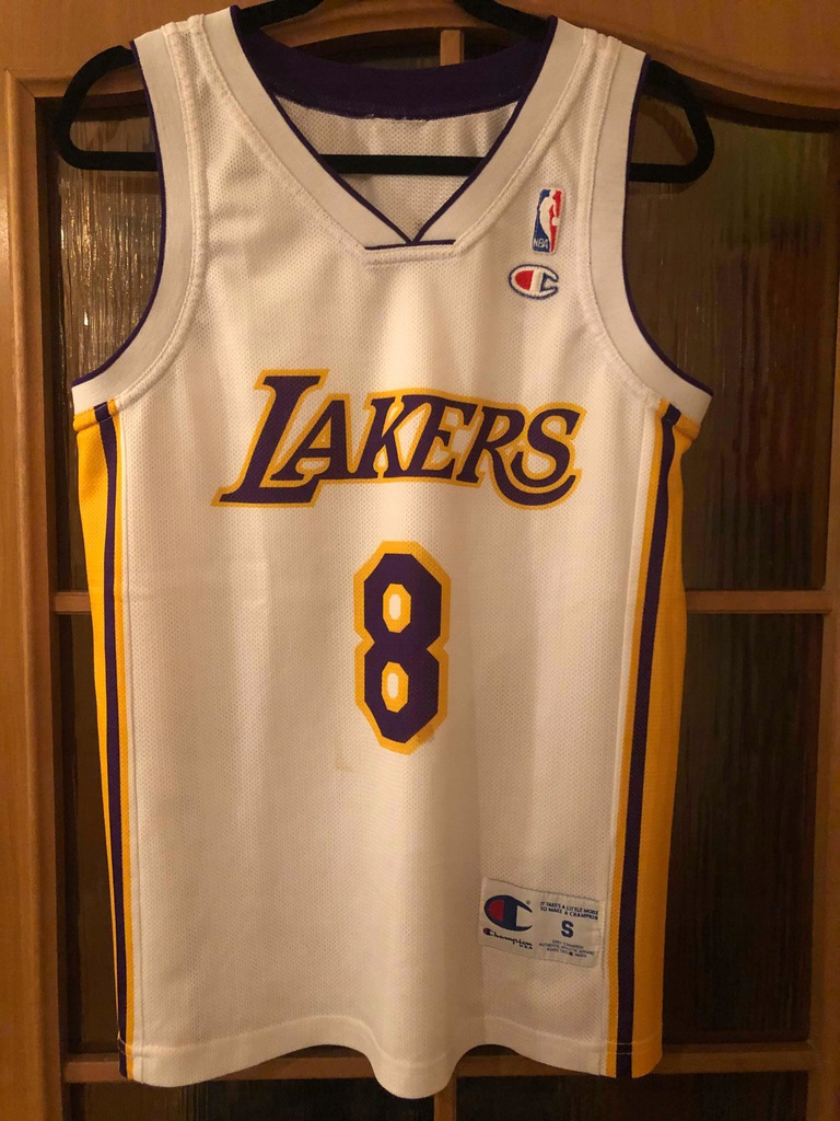 Kobe Bryant Los Angeles Lakers #8 Champion