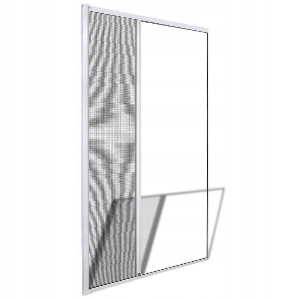 Moskitiera Na Drzwi Przesuwana Biała 120 x 215 cm