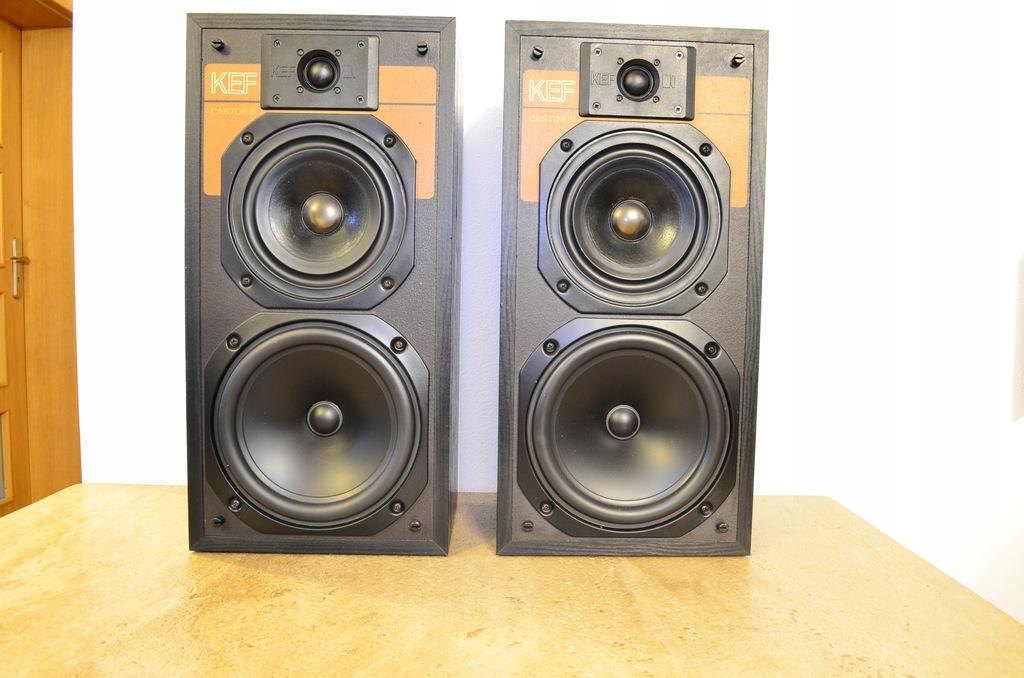 Kolumny KEF Cantor3 Piękne , audiofilskie, Vintage