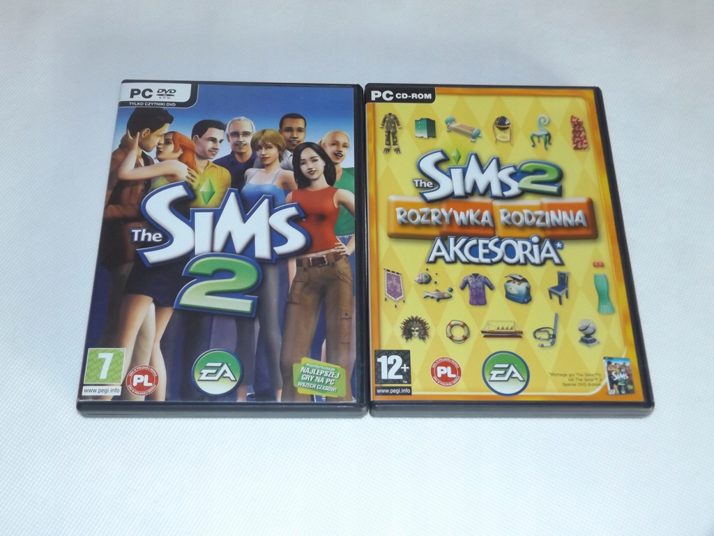 PC : The SIMS 2 (podstawa ) + gratis