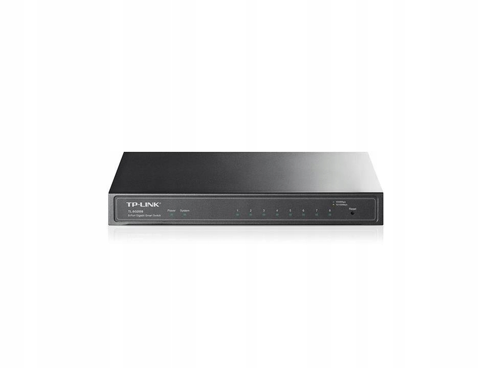 Switch TP-LINK TL-SG2008 (8x 10/100/1000Mbps)