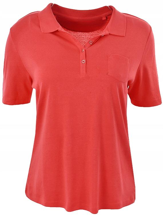 tC14586 C&A czerwona koszulka polo_46