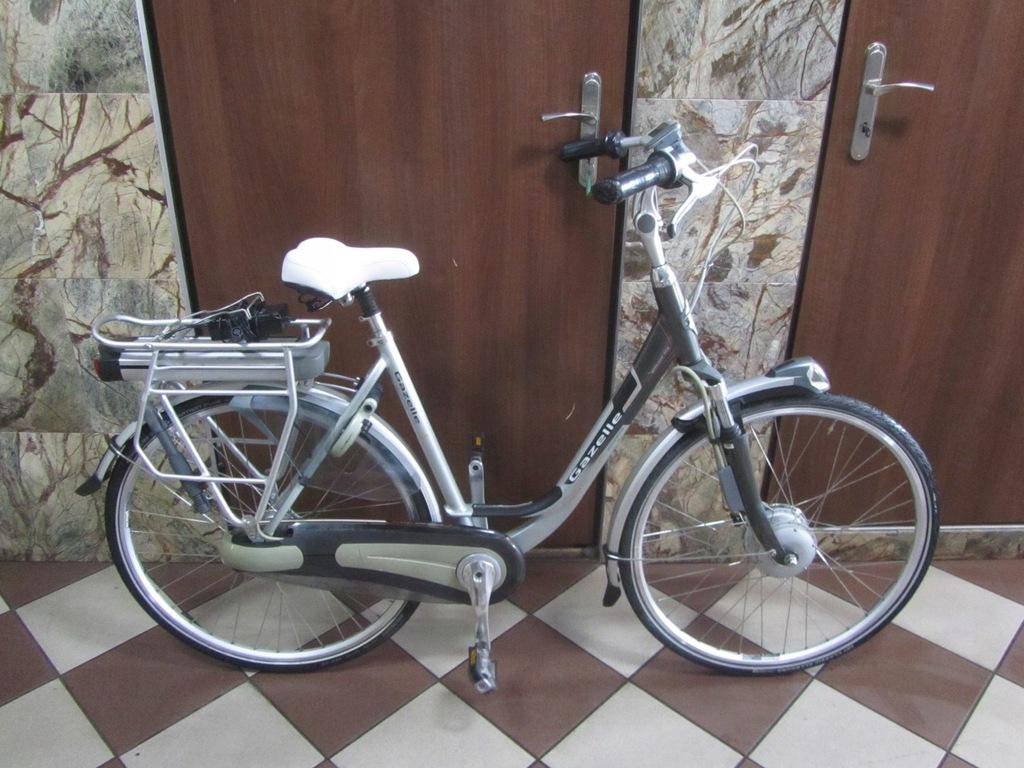 Rower Miejski Elektryczny GAZELLE EXCELLENT ORANGE
