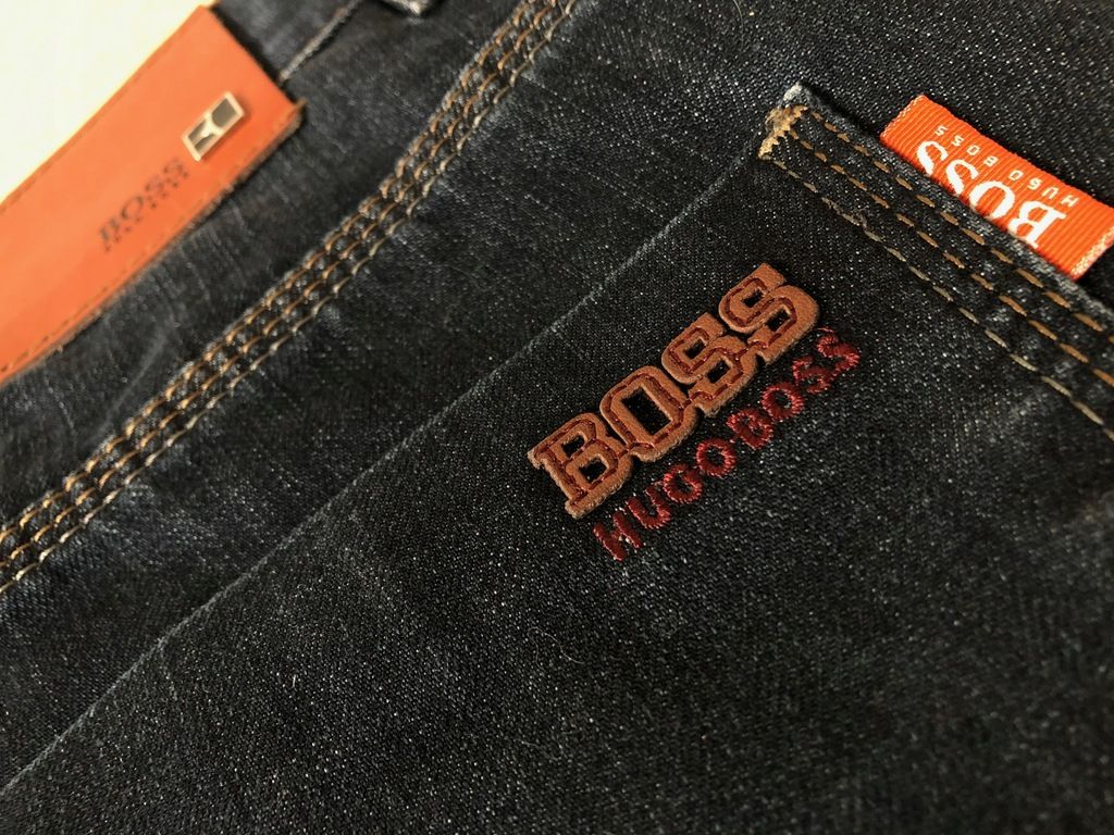 Spodnie Boss Orange, rozm 36