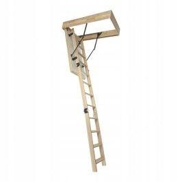 Schody strychowe podwieszane, nożycowe 2,77MAX /F