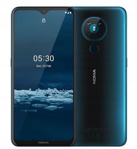 NOKIA Smartfon 5.3 Dual Sim 4/64 GB Zielony Satyna