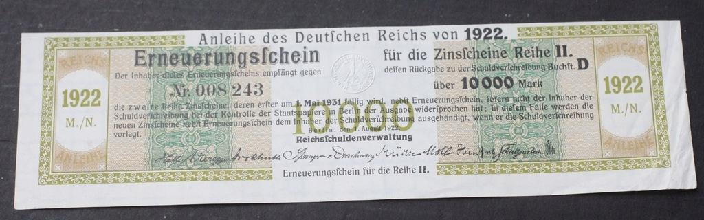 """""""10 000 mark1922....od 5,99"""