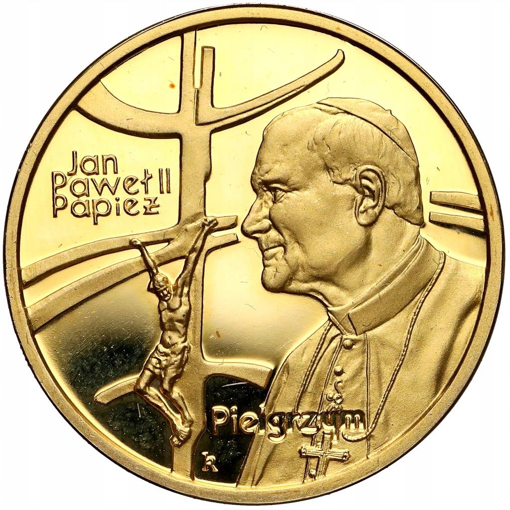 895. 100 zł 1999 Jan Paweł II - 8 g Au.900