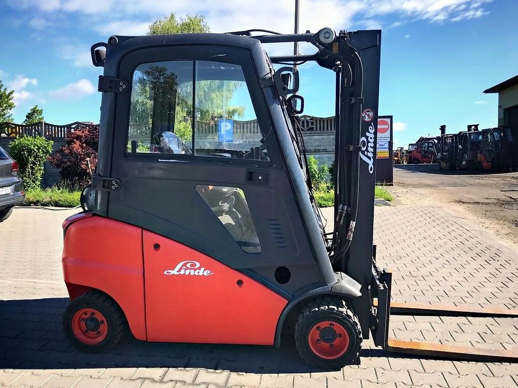 Wózek widłowy LINDE H20T LPG TRIPLEX 4.60m przesuw