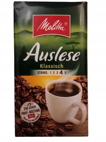 Kawa Melitta Auslese Klasyczna 500g Niemcy