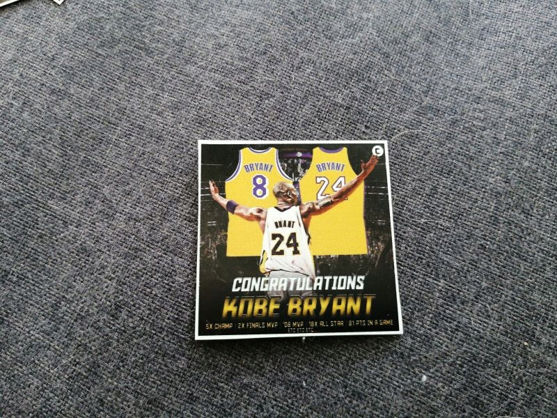Los Angeles Lakers magnes na lodówkę nba kobe