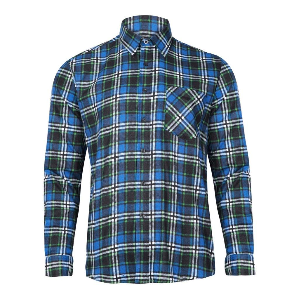 Koszula flanelowa w kratę czerwoną LahtiPro LPKF1 Artykuły