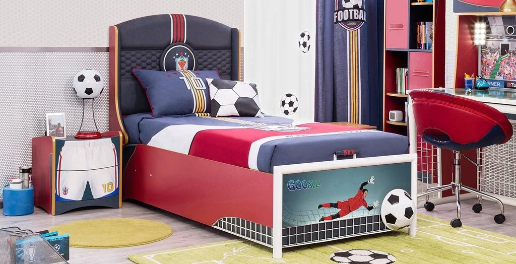 CILEKMEBLE do pokoju dla chłopca piłkarza FOOTBALL