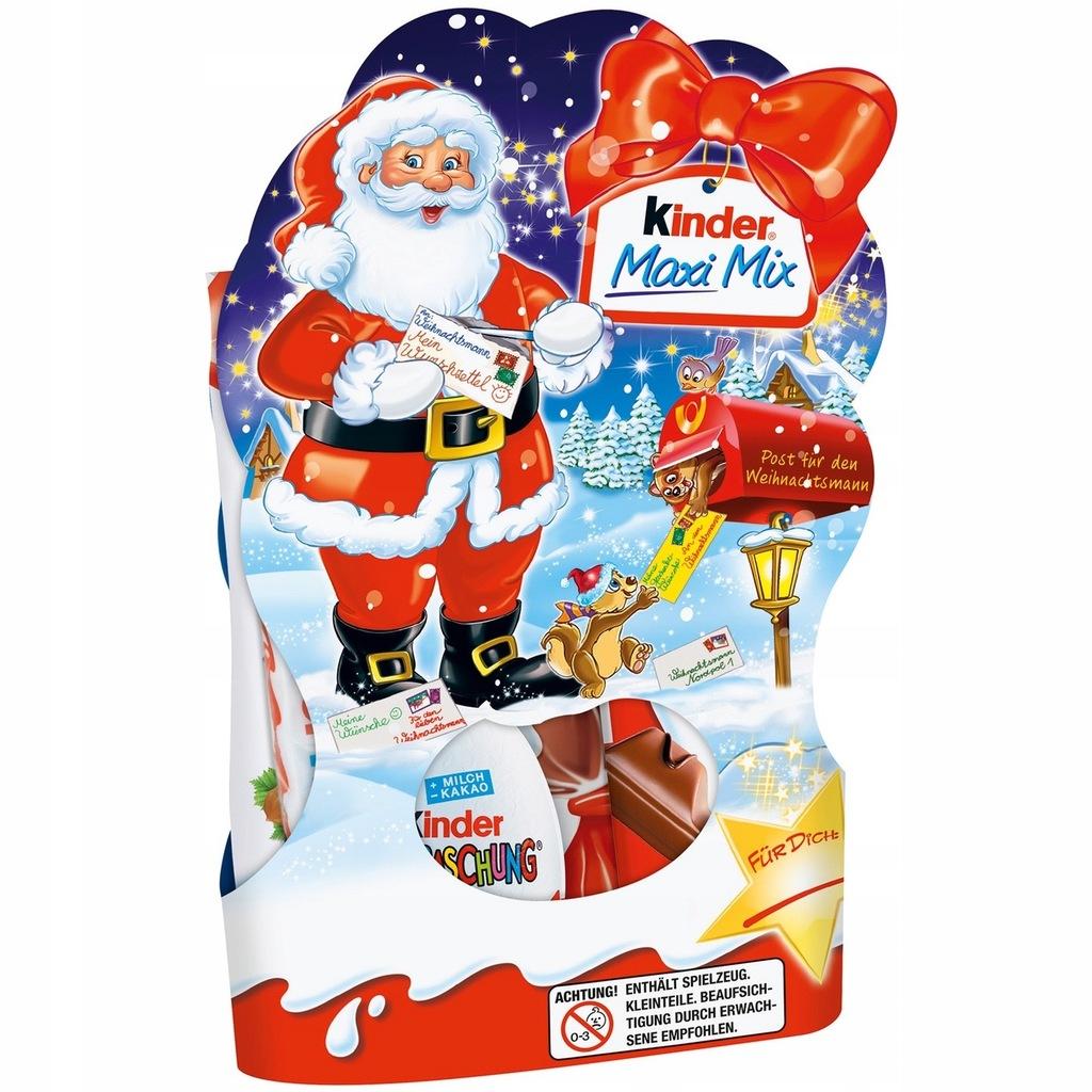 Ferrero Kinder Maxi Mix Slodyczy Prezent 153g 8709930411