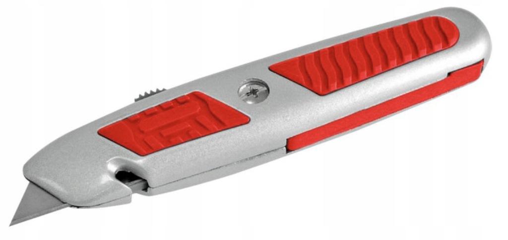 Nóż z ostrzem trapezowym chowanym Proline 30301
