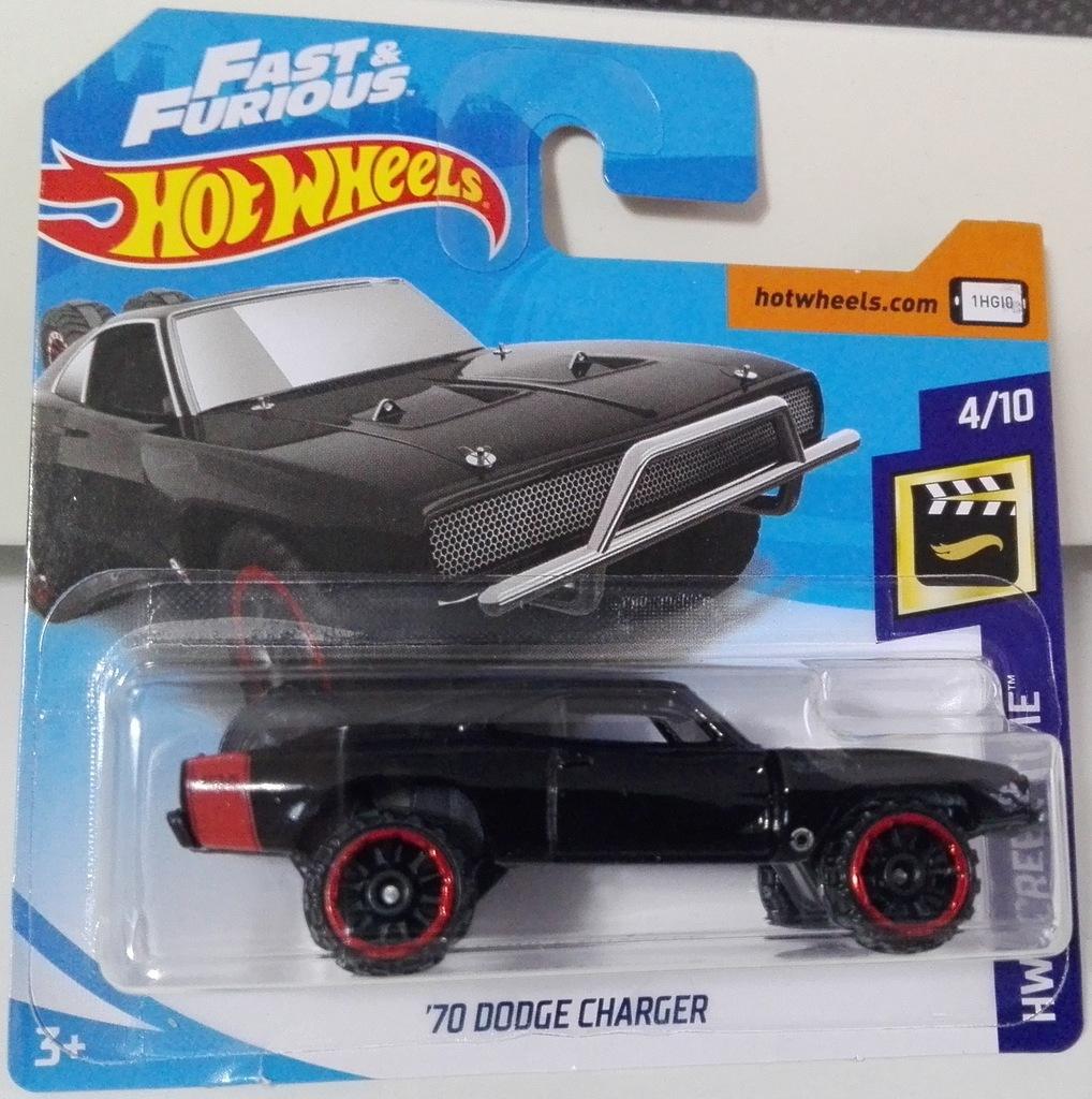 Hot Wheels 70 Dodge Charger 7950908295 Oficjalne Archiwum Allegro