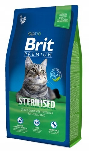 Brit Premium Cat New Sterilised 8kg