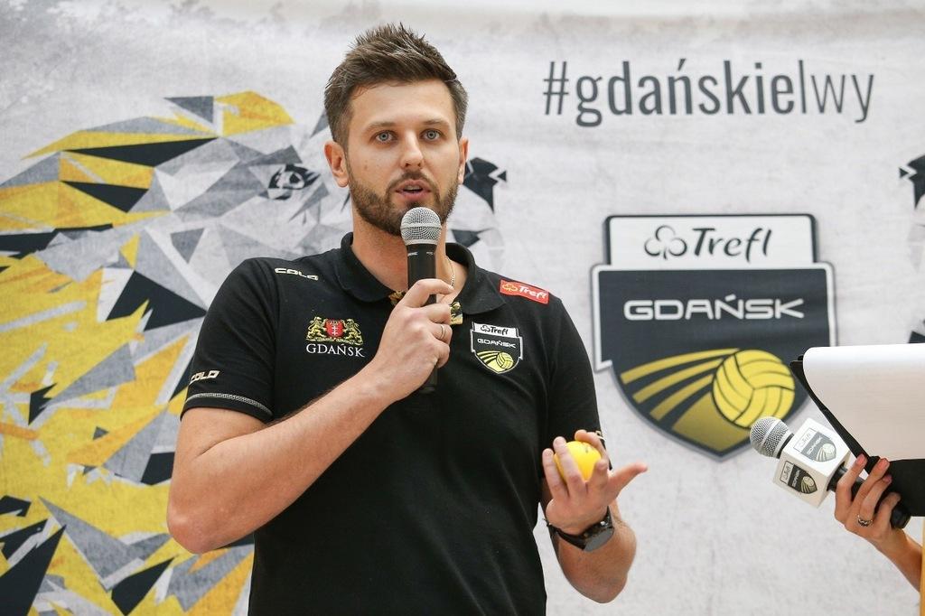 Trening z Michałem Winiarskim - Trefl Gdańsk