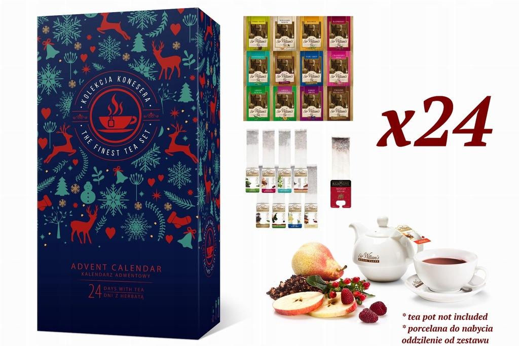 Kalendarz Adwentowy 2019 Z Herbata Nie Kosmetykami 8595887089 Oficjalne Archiwum Allegro