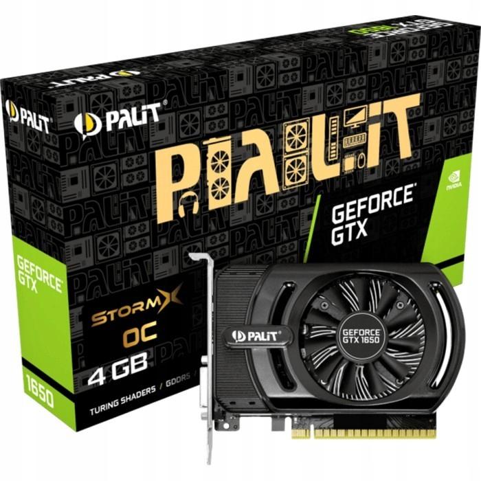 Palit GeForce GTX 1650 OC StormX 4GB DVI-D/HDMI