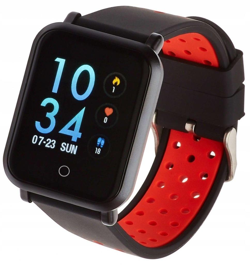 Smartwatch Sport 17 plus czerwony