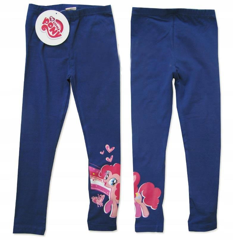 92/98 Legginsy Little Pony Pinkie Pie granat A169