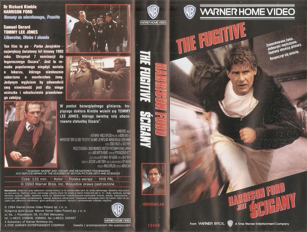 Ścigany - VHS