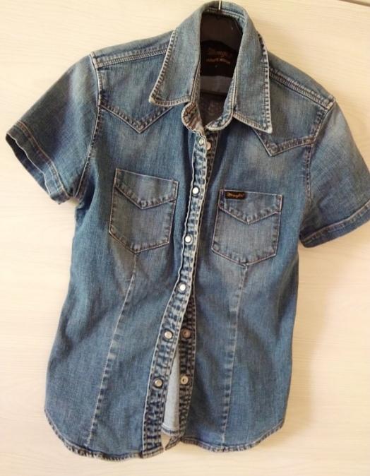 Wrangler koszula jeansowa 34/36
