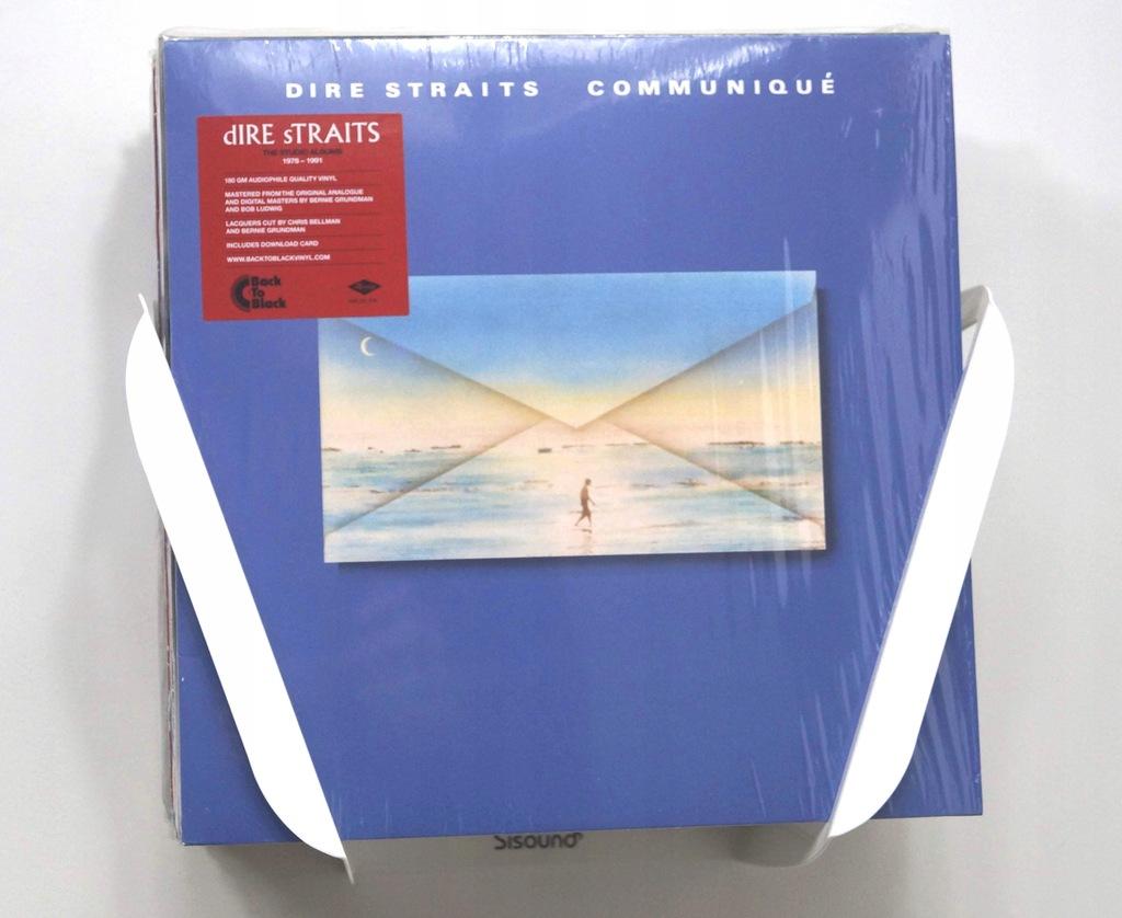 Wieszak uchwyt Winyle LP Sisound Biały XL NewDesig