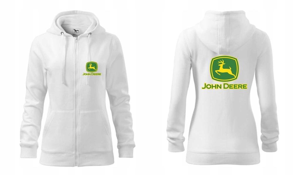 Rozpinana bluza damska JOHN DEERE 001A BHDRP r.XL