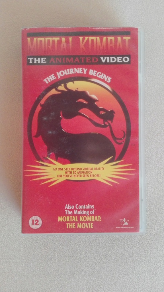 mortal kombat the journey begins 1995