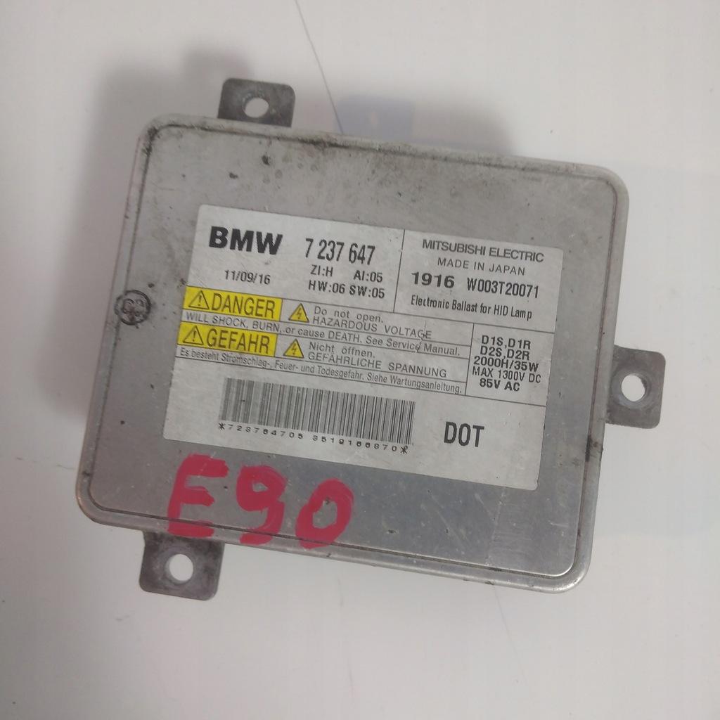PRZETWORNICA XENON 7237647 BMW F10 E90 LCI
