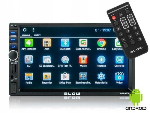 "Radio GPS Android BLOW 2DIN 7"" MirroLink"