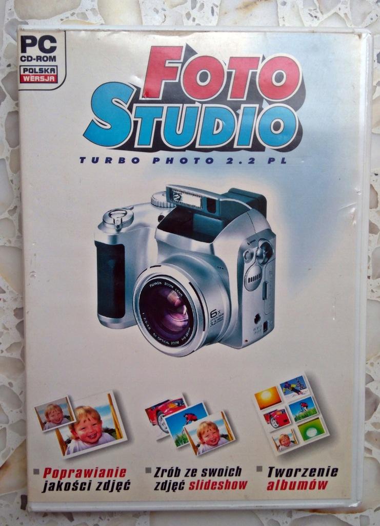 PROGRAM PC CD-ROM FOTO STUDIO Turbo 2.2 PL