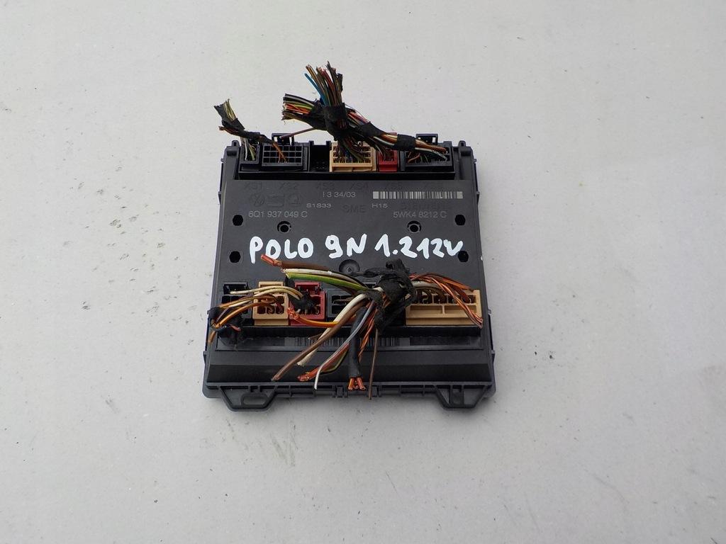 moduł komfortu vw polo 9N 6Q1937049C
