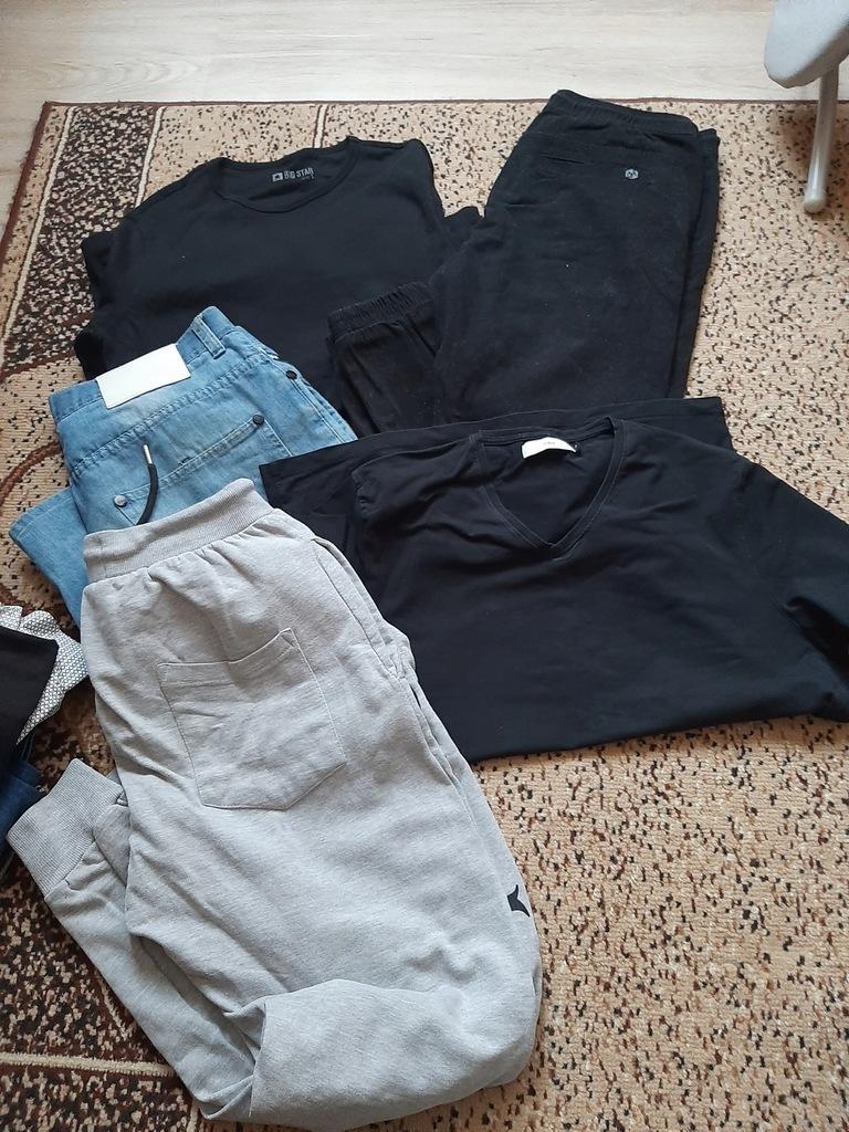 Paczka ubrań męskich M/L +obuwie Calvin Klein Puma