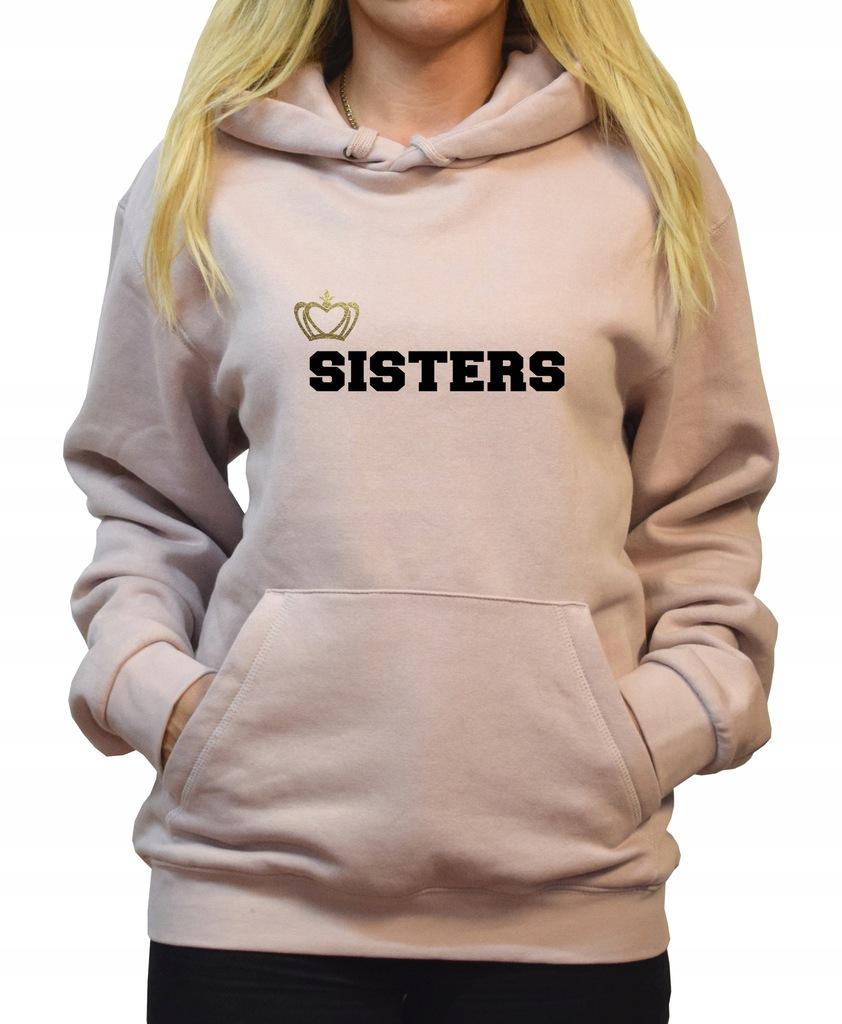 Bluza Dla Siostry Siostr Sister Sisters Prezent 8566986402 Oficjalne Archiwum Allegro