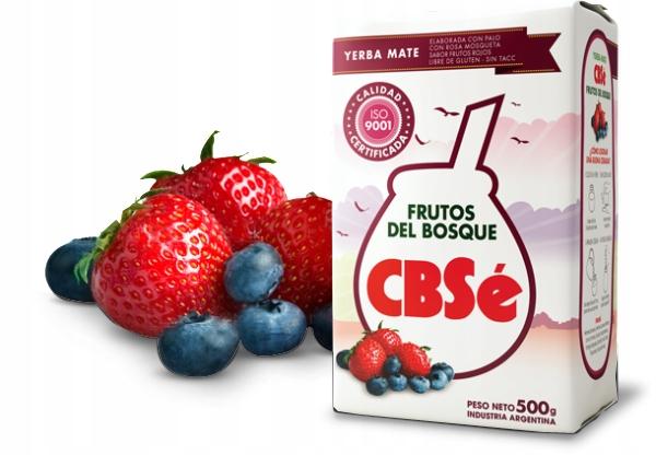 Yerba Mate CBSe Frutos Del Bosque 500g owoce leśne