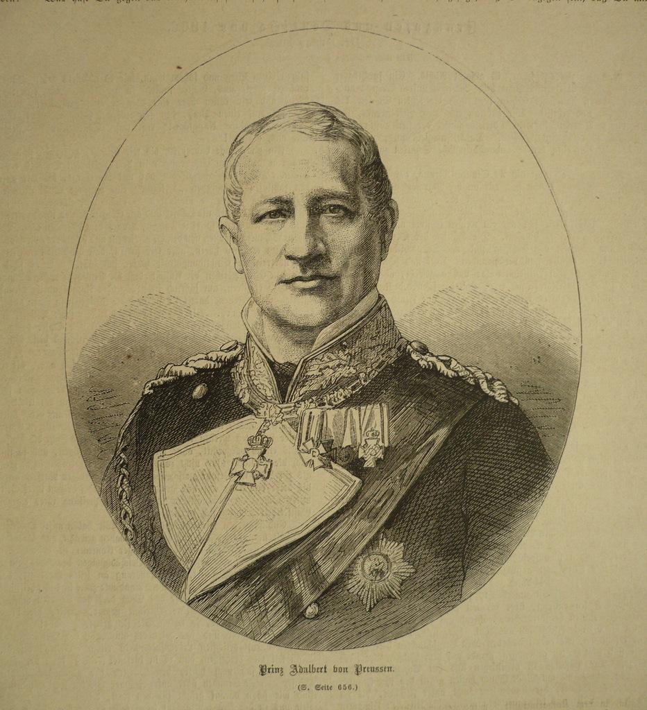 Prinz Adalbert von Preussen, oryg. 1871