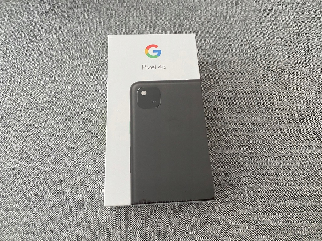 Google Pixel 4a 128GB Just Black NOWY GWAR. 24m