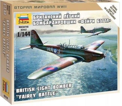Zvezda 6218 British Light Bomber