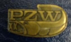 Odznaka wędkarska PZW b
